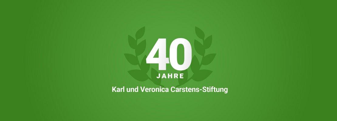 40 Jahre Karl und Veronica Carstens-Stiftung
