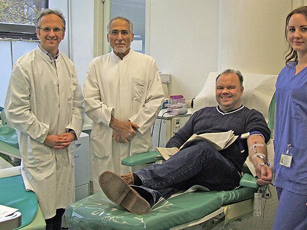 Regelmäßiges Blutspenden senkt den Blutdruck