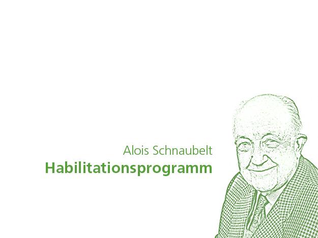 Carstens-Stiftung: Habilitationsprogramm