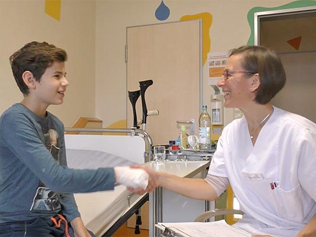 Carstens-Stiftung: Dr. Annette Schönauer über Homöopathie im Kinderkrankenhaus