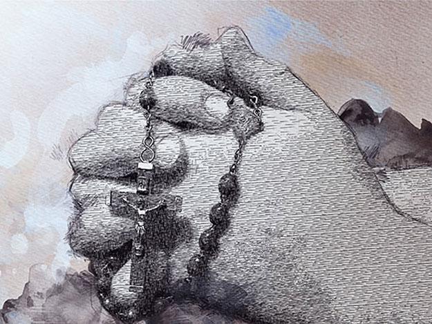 Carstens-Stiftung: Wirkt sich Rosenkranzbeten positiv auf die Gesundheit aus?