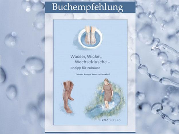 Neuerscheinung: Wasser, Wickel, Wechseldusche